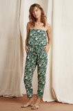 Sun kissed, crafted from a woven challis that has a gorgeous feel and drape, this jumpsuit from Velvet features an elastic above the bust, a drawstring belt at the waist and a tropical print that's about as summer as they come.  We're wearing this beauty all day and all night.