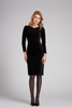 Gorgeous black velvet pencil dress from Goat - evening wear sorted in one!