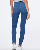 Perfect stretchy skinny jean from Paige with flattering high rise waist and lovely slim leg.