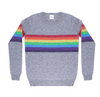 A classic cashmere from Madeleine Thompson with gorgeous rainbow colours.