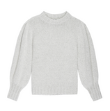 Say hello to your new favourite jumper!  In a beautiful pale grey made from an incredibly soft and fluffy cashmere blend this is a jumper you'll never want to take off.  The colour means it will go with just about anything and the shape is relaxing but very feminine.  Dress this one up or down and it will work for nearly any occasion.