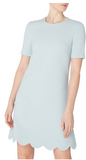 Jolie Scallop Tunic Dress