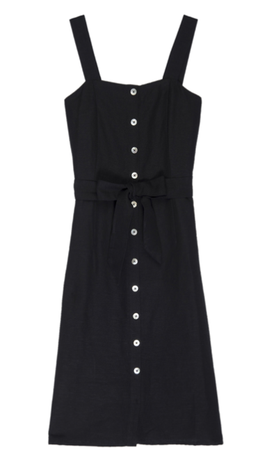 One of our favourite Rails dresses is back in black!  Effortlessly chic - but can be worn relaxed with trainers.  Perfect midi length - sleek sophistication meets total wearability - a must have in our opinion!