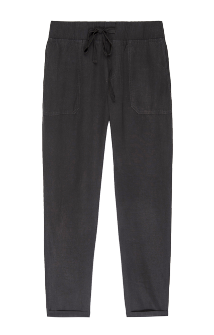 You're welcome!  We've found your new favourite alternative to denim.  From our favourite Californian brand Rails comes this easy to wear relaxed trouser.  With a drawstring waist, front and back pockets (we ladies like pockets too!) and a slightly tapered leg these are a throw on and go option which still keep you looking stylish.