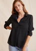 Comfy enough for the weekend but smart enough for work - this soft lightweight button down with two chest pockets from Bella Dahl can be worn tucked, tied or just as it comes.  With a relaxed shape and slightly longer hem in the back this is one you'll reach for again and again.