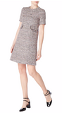 Joelle Tweed Shift Dress