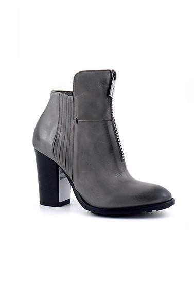Room antracite ankle boots
