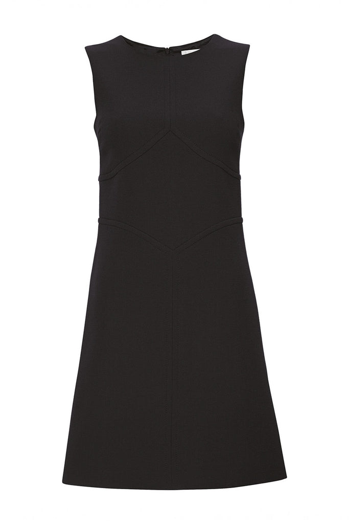 100% wool black sleeveless formal dress by Goat at Peek Boutique