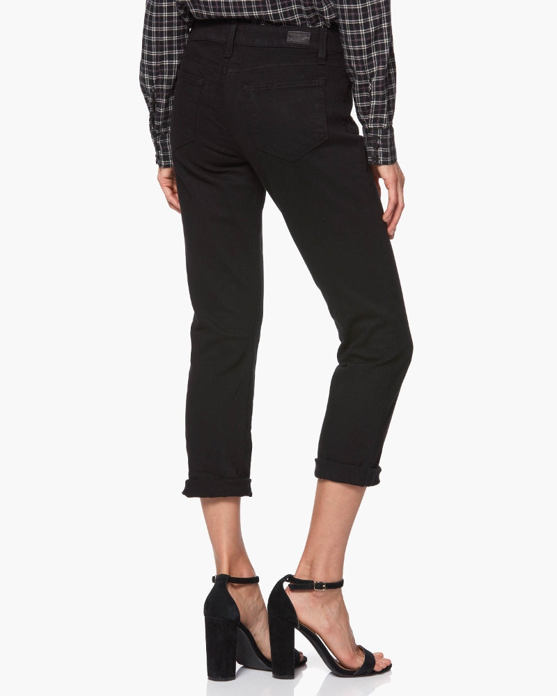 The Brigitte is our mid-rise slim-fitting boyfriend jean featuring a relaxed, yet tailored silhouette.