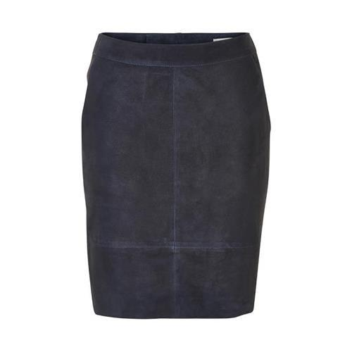Char Suede Mini Skirt