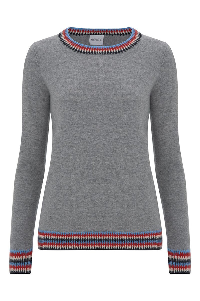 Your new go to jumper with  jeans - in Madeleine Thompson's incredibly soft cashmere.