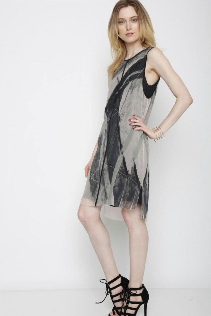 Go get layered dress print