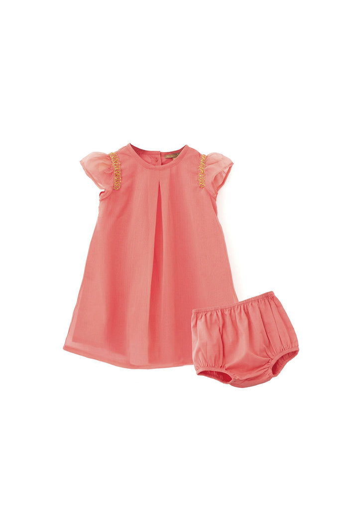 MINI PEEK Baby lliad dress