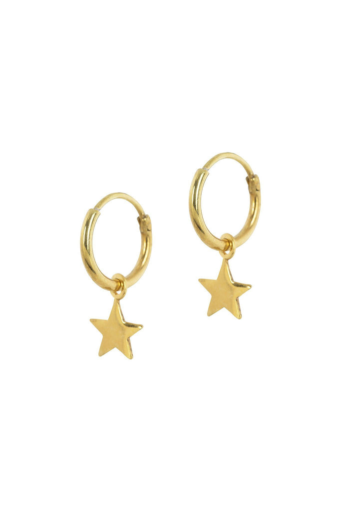 Ring with star earrings