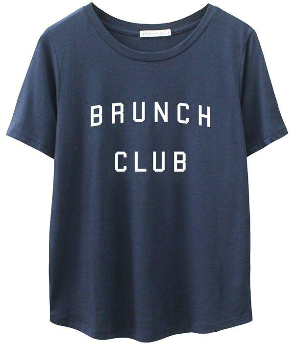 Short Sleeved Brunch Club Tee