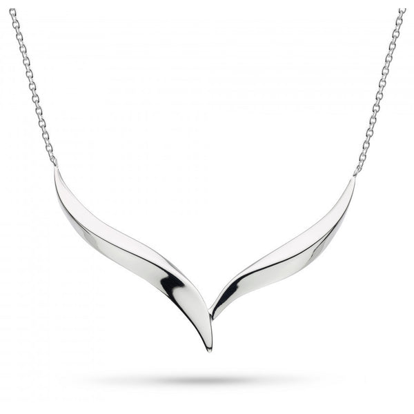 Bevel Edge Oblique Necklace