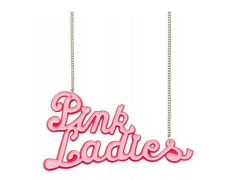 Pink Ladies Necklace - Grease