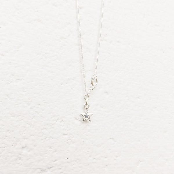 beach fireglass necklace - zennor -