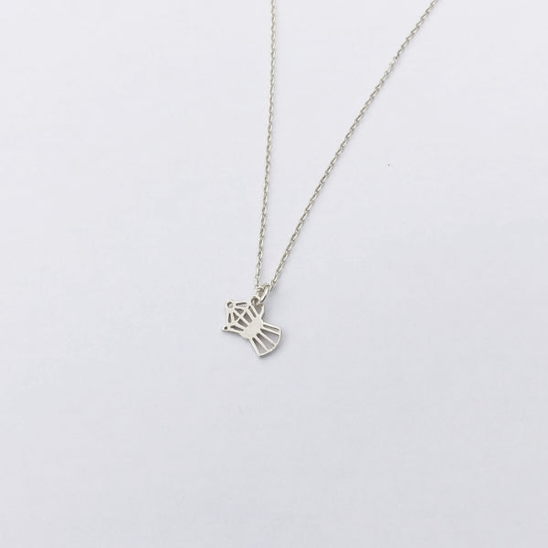 bialetti necklace - silver -