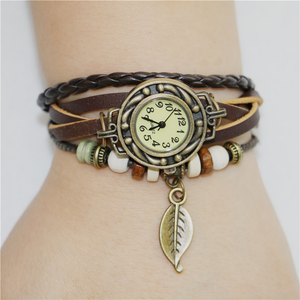 Womens Retro Leather Bracelet - J20Style - 2