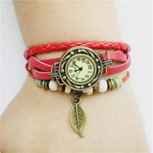 Womens Retro Leather Bracelet - J20Style - 3