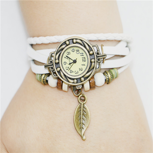 Womens Retro Leather Bracelet - J20Style - 4