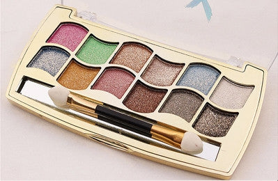 Shiny 12 Colors Eye Shadow Palette - J20Style - 3