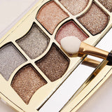 Shiny 12 Colors Eye Shadow Palette - J20Style