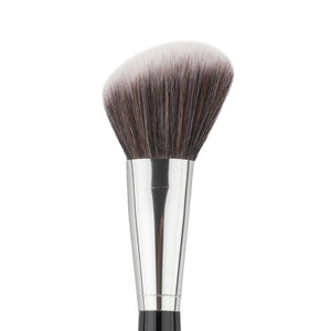 1Pc Angled Synthetic Face Cheek Contour Bronzer Blush Brush