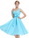 Chiffon Mini Dress For Brides - J20Style - 6