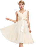 Chiffon Mini Dress For Brides - J20Style - 8