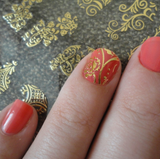Pattern Stickers 3D Nail Art Stickers - J20Style - 1