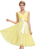 Chiffon Mini Dress For Brides - J20Style - 7