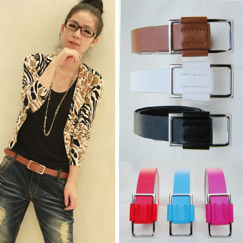 Candy Color Slipping Strap Belt - J20Style