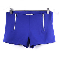 Candy Color Double Zips Hot Slim Shorts - J20Style - 2
