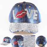 High Quality Lips and Love Letter Cap - J20Style - 2
