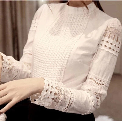 Casual Cotton Slim Sheer Whiter Shirt - J20Style - 2