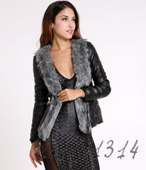 Gilet Outerwear Leather Coat - J20Style - 1