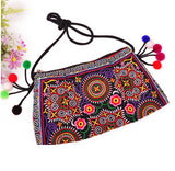 Ethnic Embroidered Handmade Shoulder Bag - J20Style - 13