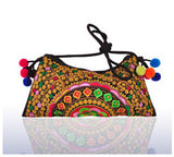 Ethnic Embroidered Handmade Shoulder Bag - J20Style - 7