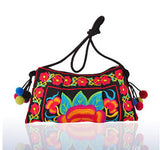 Ethnic Embroidered Handmade Shoulder Bag - J20Style - 6