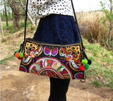 Ethnic Embroidered Handmade Shoulder Bag - J20Style - 1