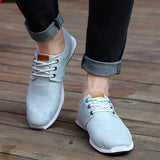 Summer Men Canvas Running Shoes - J20Style - 1
