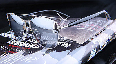 Luxury Metal Reflective Sun Glasses - J20Style - 3