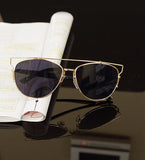 Luxury Metal Reflective Sun Glasses - J20Style - 7