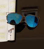 Luxury Metal Reflective Sun Glasses - J20Style - 4