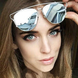 Luxury Metal Reflective Sun Glasses - J20Style - 1