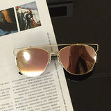 Luxury Metal Reflective Sun Glasses - J20Style - 9