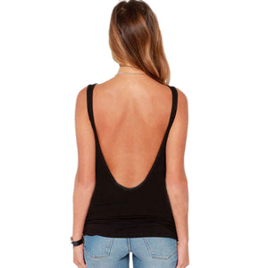 Summer Backless Vest Flexible Beachwear - J20Style - 5