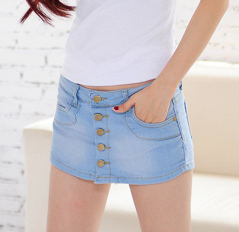 Summer Anti Emptied Jeans Short - J20Style - 1